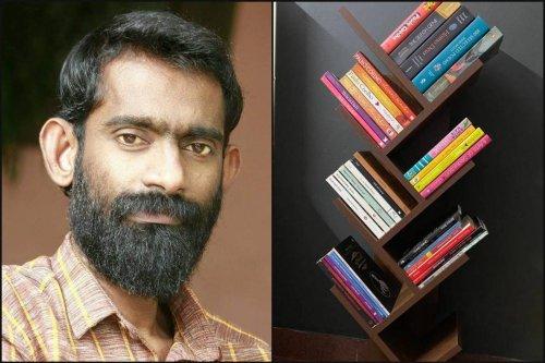 Passionate about reading, Kerala man creates beautiful tree-shaped bookshelves