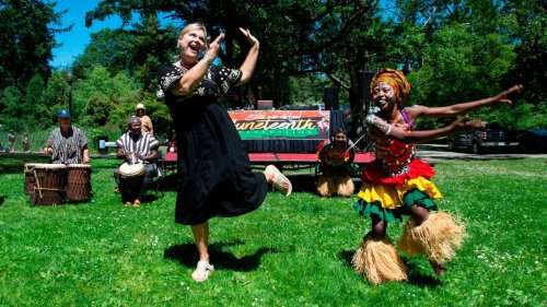 Pierce County families celebrate Juneteenth at Wright Park event in Tacoma