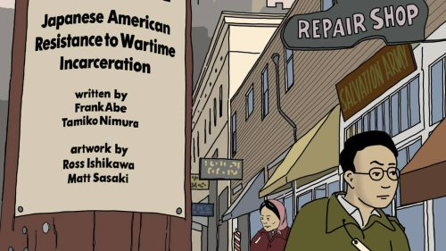 Tacoma writer's family history shapes graphic novel on resistance to WWII internment