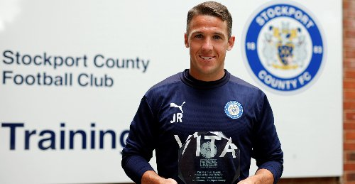 Stockport County star John Rooney named as National League Player of the Season