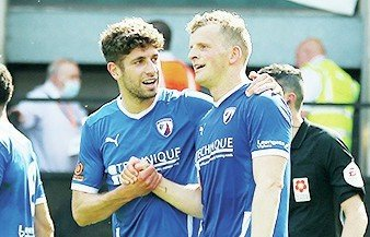Chesterfield boss fumes at crucial decision in play-off thriller