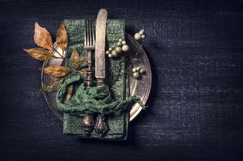 At Thanksgiving cover image
