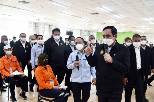 Thai Prime Minister visits GISTDA and the Factory Sandbox program in Si Racha - The Pattaya News