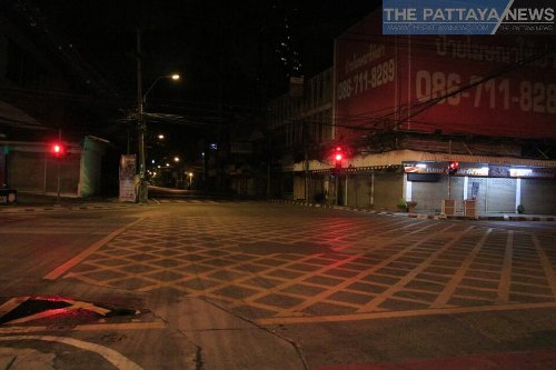 Pattaya under Covid-19 restrictions overnight with everything closed: Photo tour - The Pattaya News