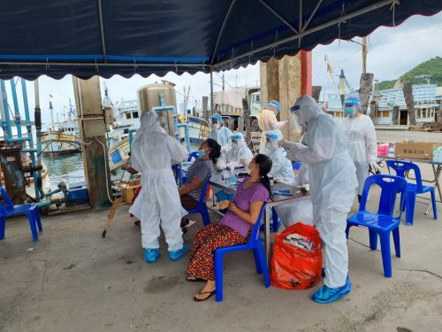 Chonburi announces 245 new and confirmed cases of Covid-19 and 2 new deaths