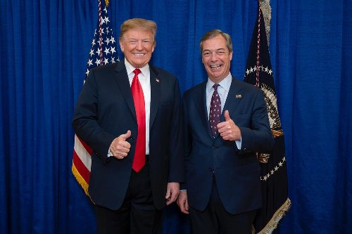 WE BECAME FRIENDS THROUGH THIS: Nigel Farage Exclusive Interview on President Trump :: The Pavlovic Today