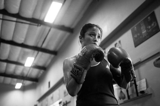 Fight Like a Woman: A Documentary Photo Project on an American Female Boxer