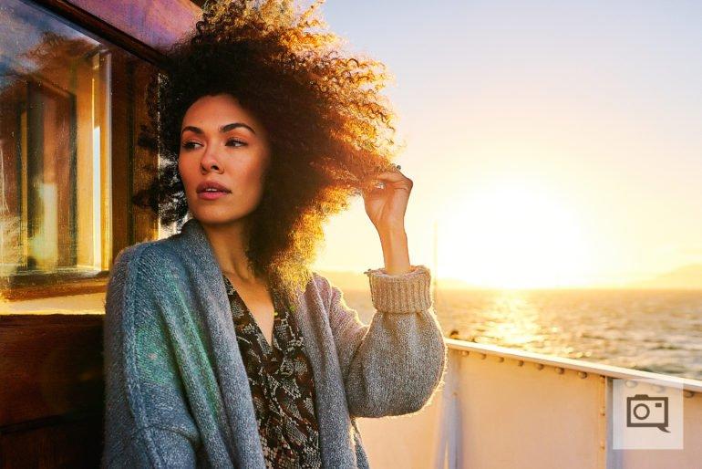 Creating Stunning Portraits Using Beautiful Golden Hour Light