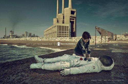 Pep Ávila Pictures Children's Heartbreak for an Emotional Ad Campaign