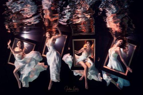 Mermaids And Photographers got Innovative to make Team Submerge