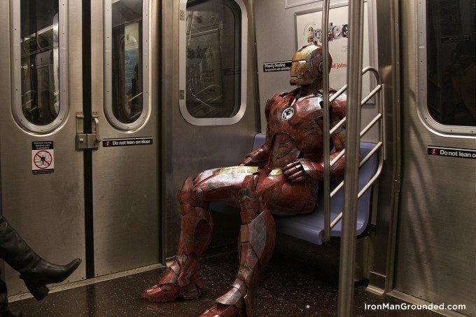 Iron Man Grounded Humanizes the Famous Hero