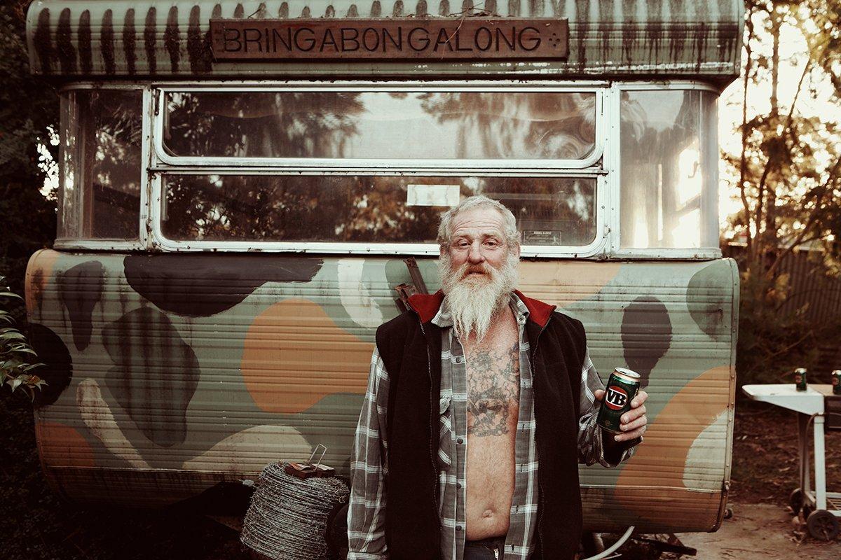 Jonathan May: The Transient Lives of Australia's Caravan Park Dwellers