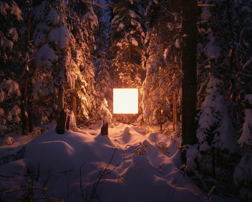Benoit Paillé Transforms Landscapes into Visual Poetry with Light