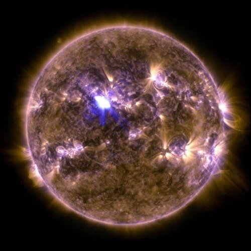 NASA's Image of a Giant Solar Flare is Stunning - The Phoblographer