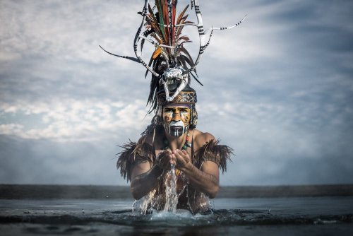 JP Stones Documents Aztec Culture in Mexico Through Stunning Portraiture