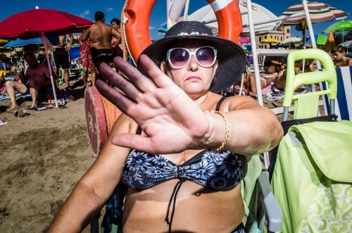 "Salvatore Matarazzo Takes Us to a ""Pocket Beach"" Vacation"