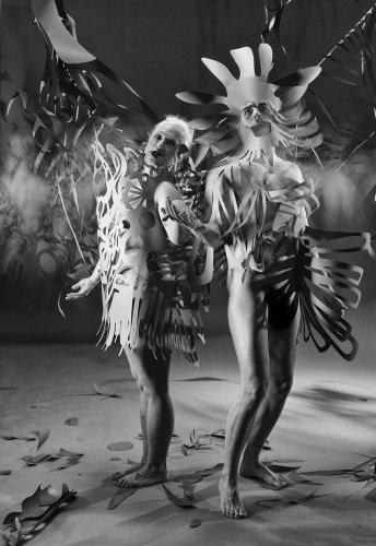 Night Paper: Matt Hill's Black and White Portraits (NSFW)