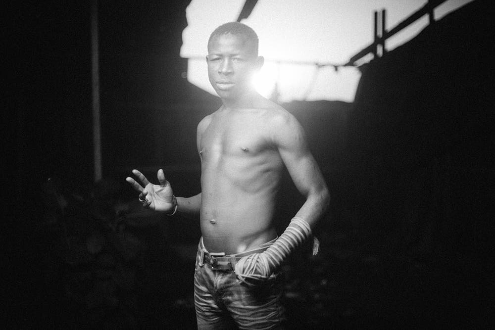 Portraits of One Handed Dambe Fight Club Fighters Are Unreal