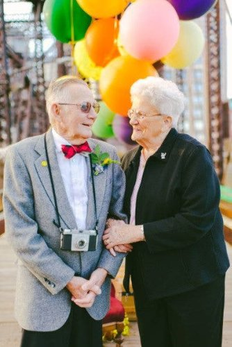 Couple Finally Gets their Wedding Photo Shoot, 61 Years Later - The Phoblographer