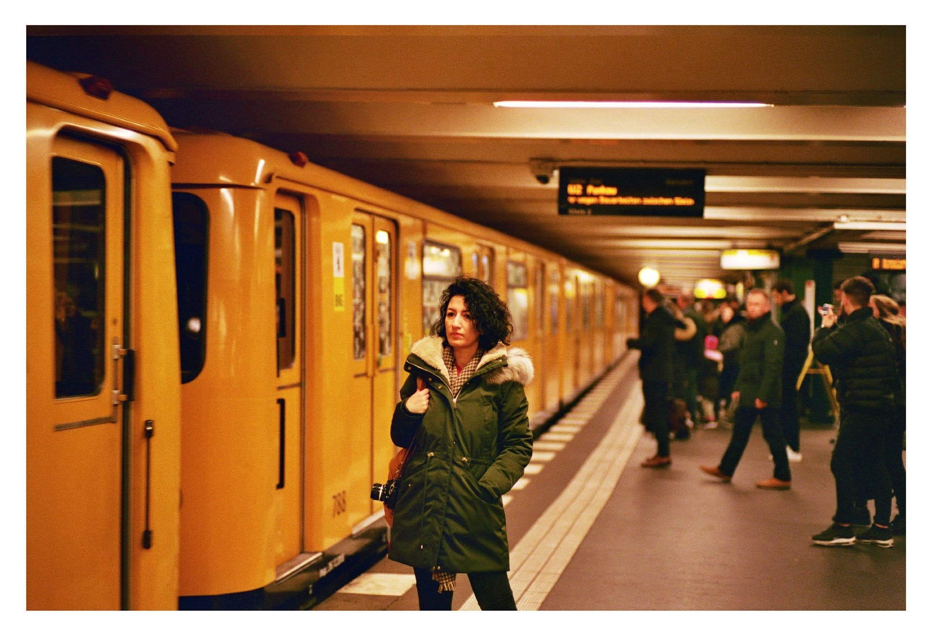 Onur Kurt Chronicles Berlin in Gorgeous CineStill 800T Snaps
