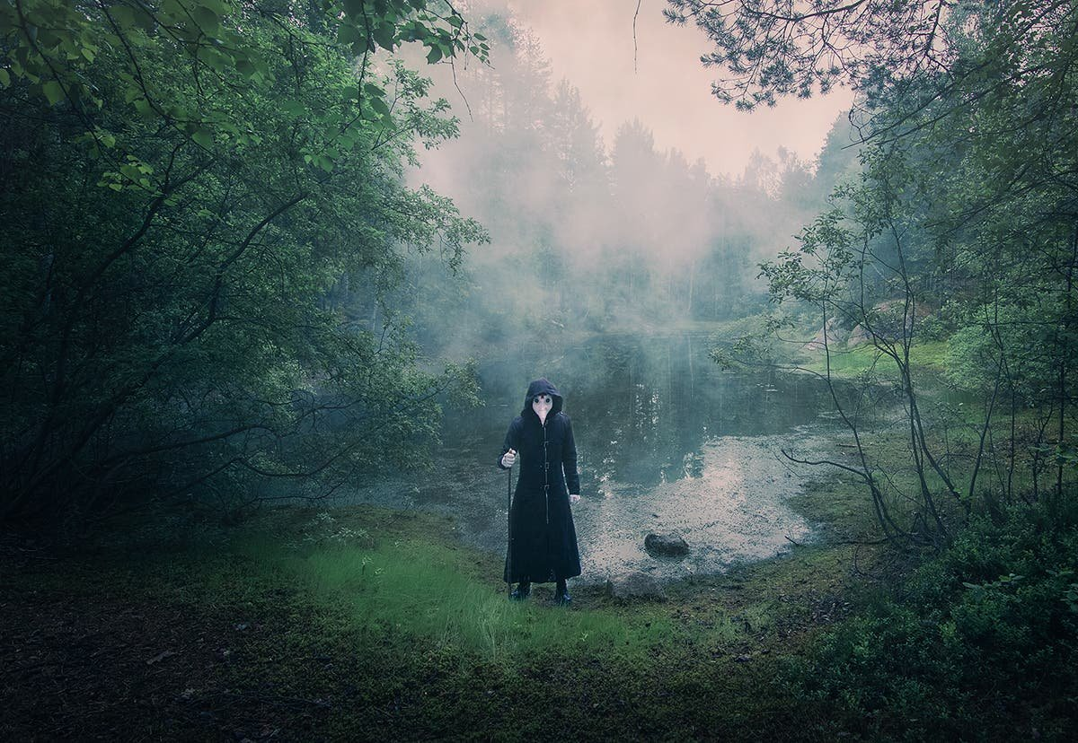 Mika Suutari Imagines a Lonely Life for a Plague Doctor