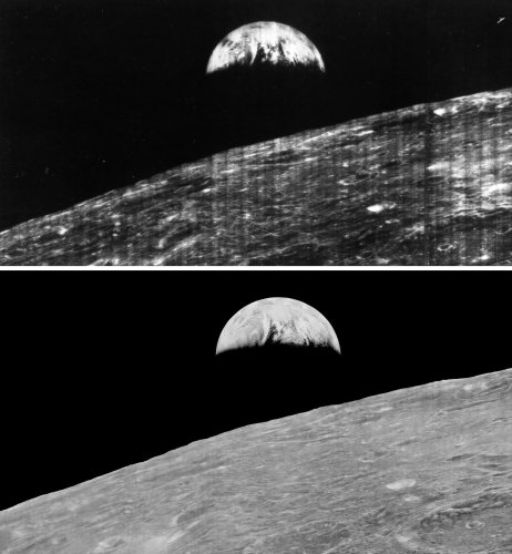 Techno-Archaeologists Recover and Digitalize Long-Lost Lunar Orbiter Photos of the Moon - The Phoblographer