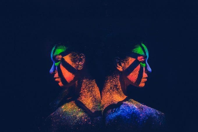 """Creating the Photograph: Nick Fancher's """"Black Light Portraits"""" - The Phoblographer"""