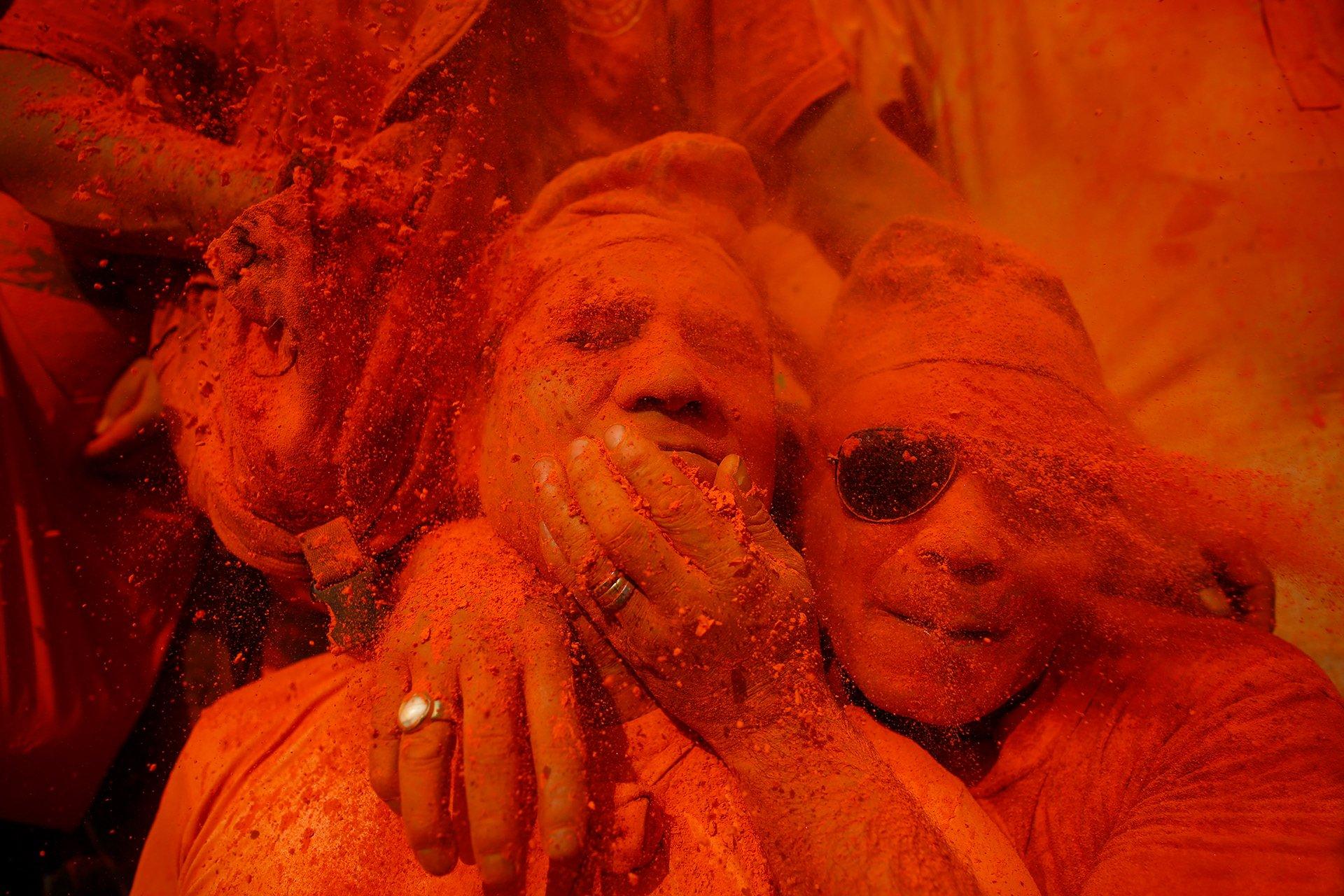 Skanda Gautam Reveals the Crimson Revelry of Nepal's Sindoor Festival