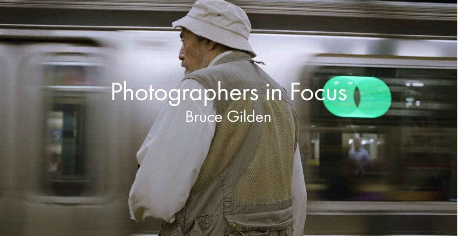 How His Childhood and New York City Inspired Bruce Gilden