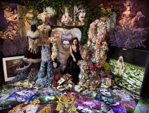 Kristy Mitchell Creates a Wonderland in Honor of Her Mother