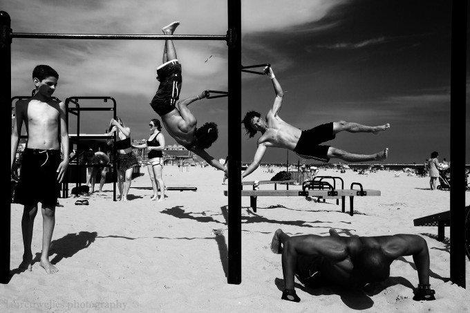 Lauren Welles' Coney Island in Monochrome
