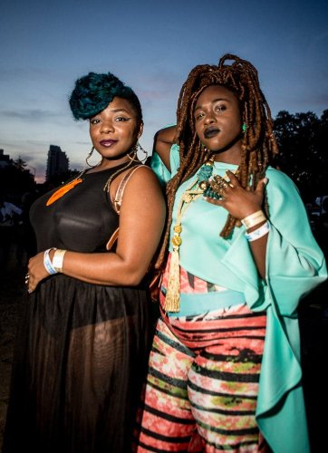 Gretchen Robinette's Beautiful Portraits of Afro Punk Festival Goers