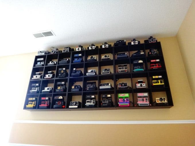 Kneel Before This Glorious Collection of Polaroid Cameras