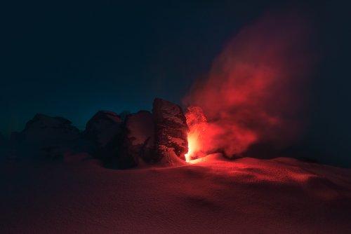 Øystein Sture Aspelund Adds a Splash of Color in Nordic Landscapes