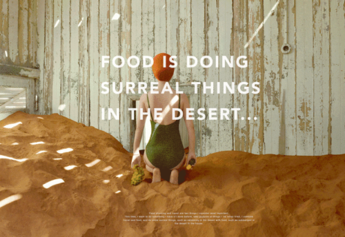 Yum Tang Brings Conceptual Food Photography to the Namib Desert
