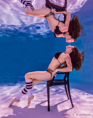 Ken Kiefer: Underwater Fashion Photography