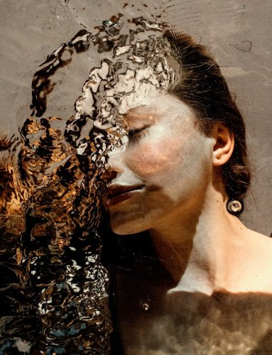 Marta Syrko Uses Water and Glass for Creative Portrait Photography