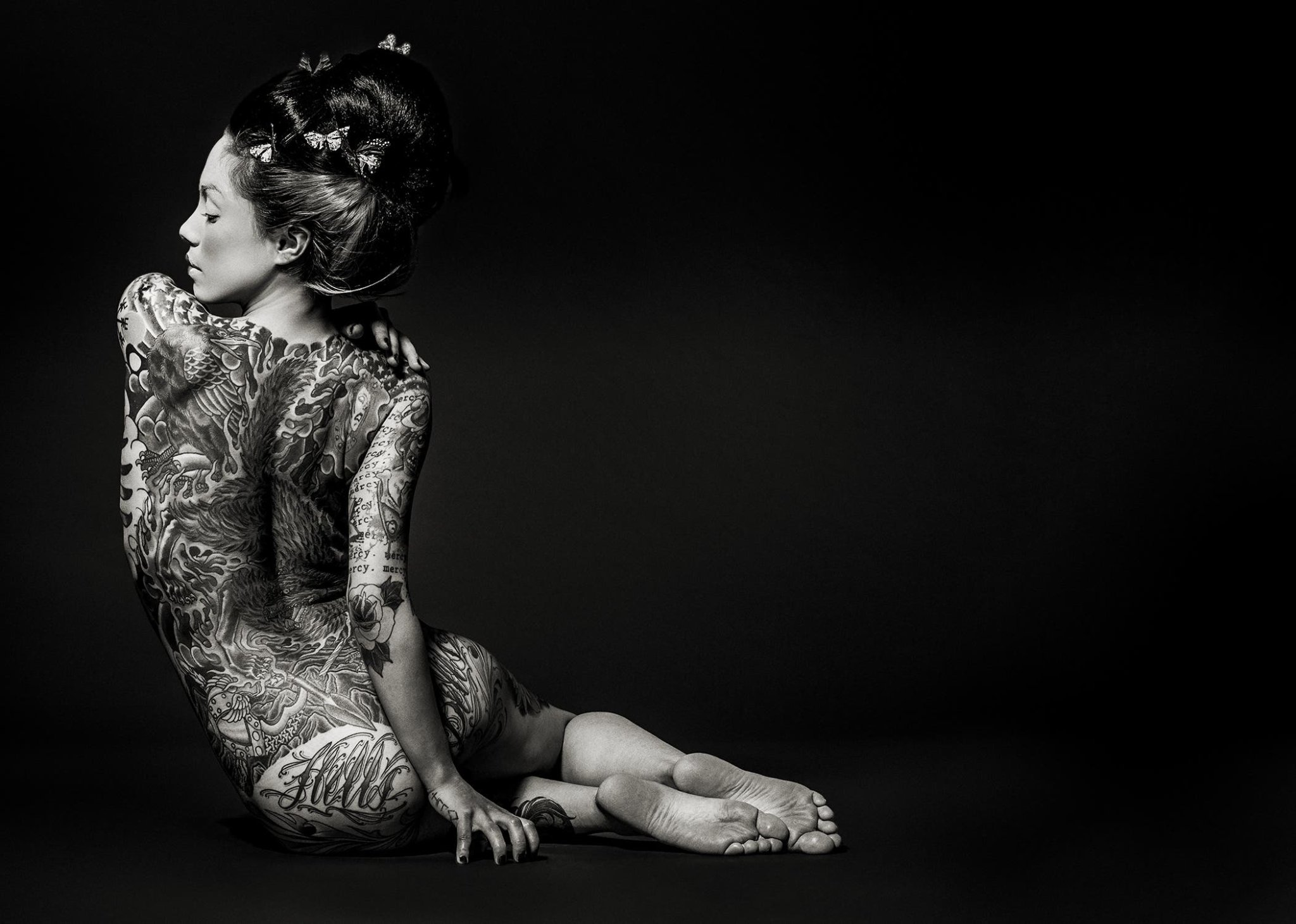 Reka Nyari Tells Four Different Stories Inked on the Female Form (NSFW)