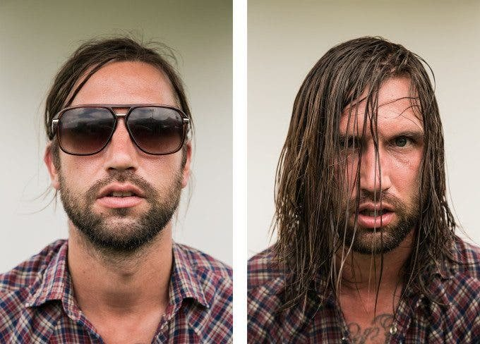 Photo of Warped Tour Musicians Before and After Their Show