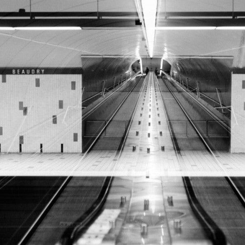 Remi Martel's Double Exposures of Montreal's Subways - The Phoblographer