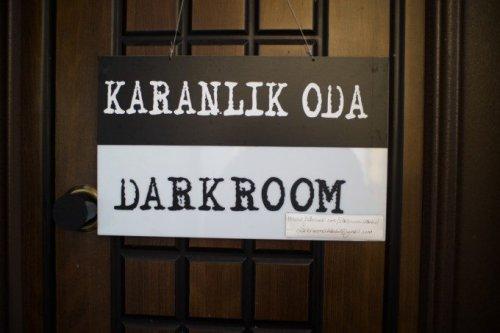 Inside a Darkroom in Istanbul