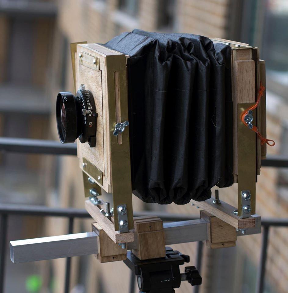 A Homemade 4x5 Monorail Camera
