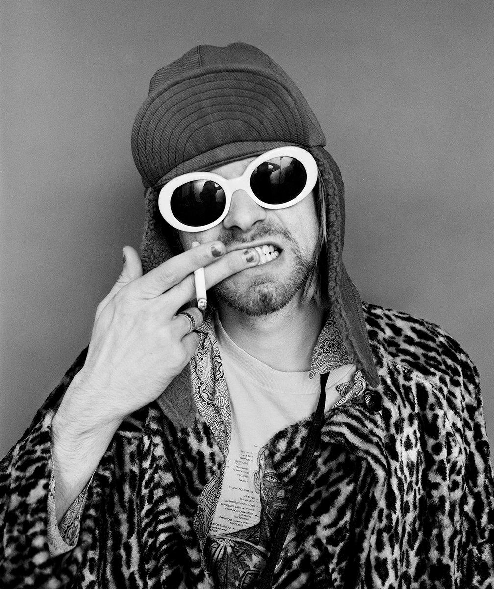 Jesse Frohman On One of Kurt Cobain's Last Photoshoot