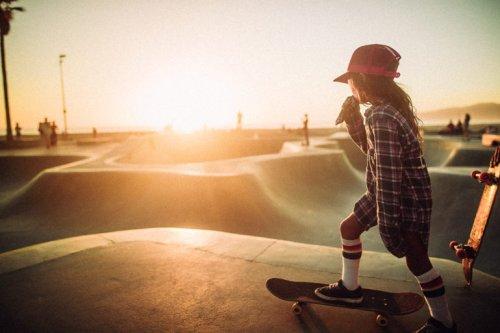 André Josselin: Beautiful Skate Scenes Against Venice Beach Sunset