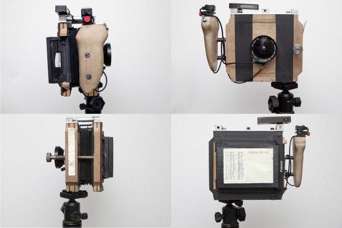 The Building of A Homemade 4x5 Polaroid Camera