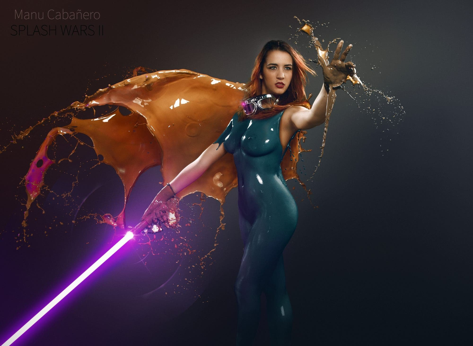 Manu Cabanero's Splash Wars II Continues to Pay Homage to Star Wars (NSFW)