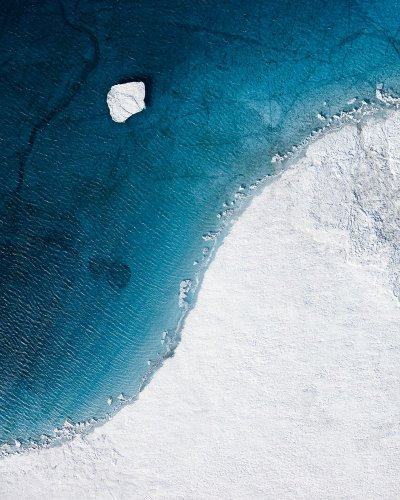 Tom Hegen Explores Global Warming Through the Arctic's Abstract Beauty