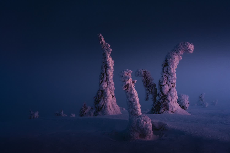 Stian Klo Reveals the Surreal Vistas of Finnish Lapland