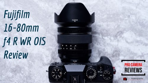 Video: Fujifilm 16-80mm f4 R WR OIS Review (We Love it!)