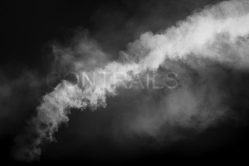 Tom Leighton's Contrails Explores the Concept of Drawing with Smoke